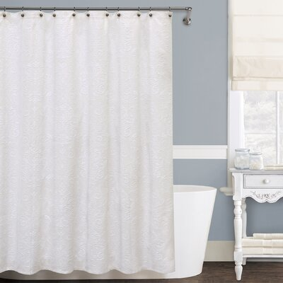 Isabella Cotton Shower Curtain