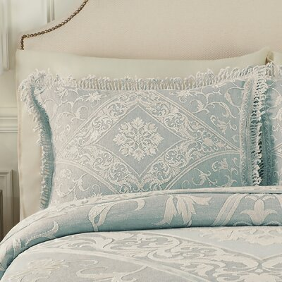Gabriella Sham Size: King, Color: Blue