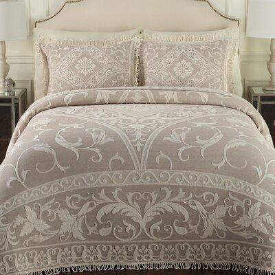 Gabriella Bedspread Size: King, Color: Linen