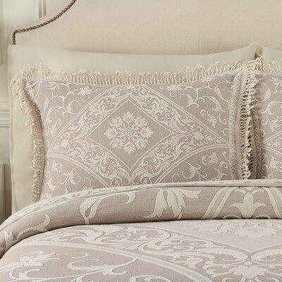 Gabriella Sham Color: Linen, Size: Standard