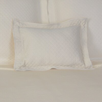 Freman Cotton Boudoir/Breakfast Pillow Color: Ivory