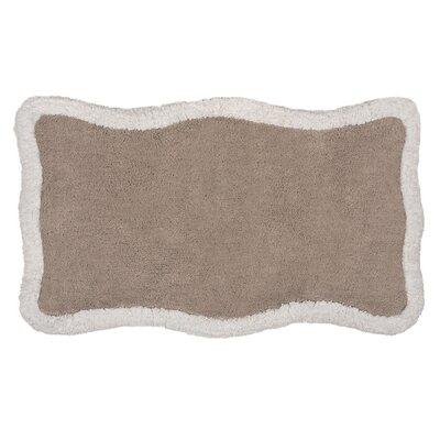 Zella Bath Rug Color: Taupe/Cream