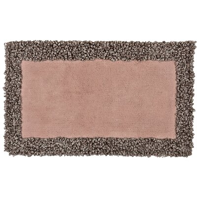 Fiona Bath Rug Color: Blush