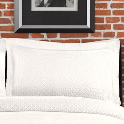 Freman Standard Sham Size: Standard/Twin, Color: White