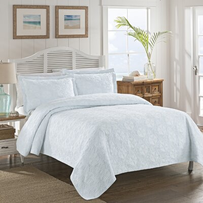 Efrain Coverlet Size: King, Color: Blue