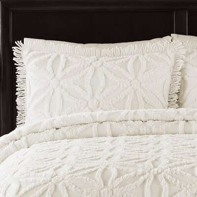 LaMont Arianna Chenille Bedspread Set - Size: Full, Color: Ivory at Sears.com