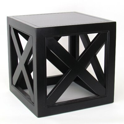 Hunter End Table Finish: Antique Black