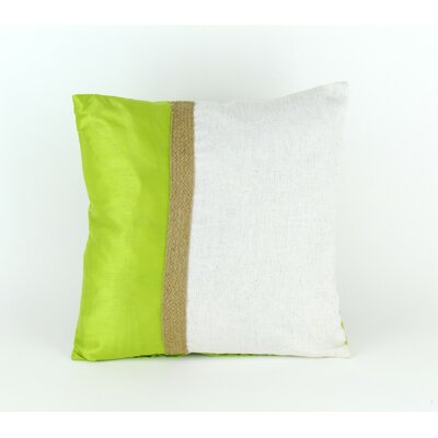 Finck Throw Pillow Color: Green