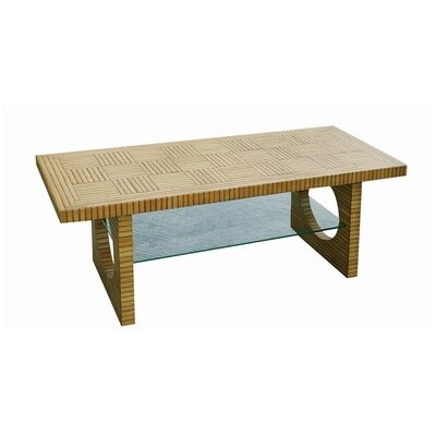 Cheap Wayborn Architectural Bamboo 56″ TV Console Table (WYB1739)