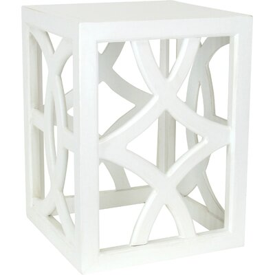 Charleston End Table Finish: Whitewash