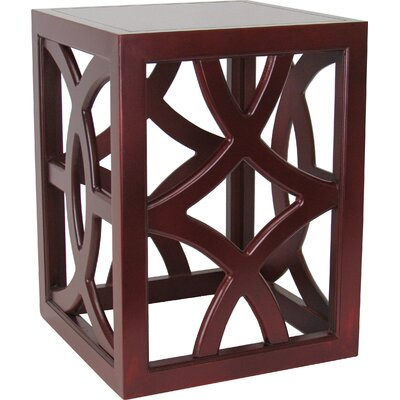 Charleston End Table Finish: Brown