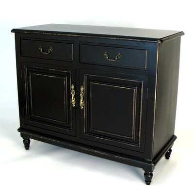 Distressed Antique Black Server