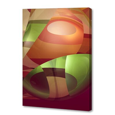 'Groovy' by Scott J. Menaul Graphic Art on Wrapped Canvas Size: 54