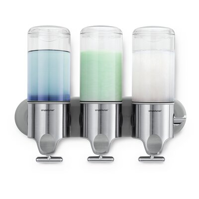 simplehuman Triple 15 Fl. Oz. Soap Dispenser