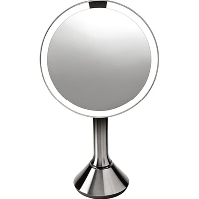 Sensor Mirror - Sensor-Activated Lighted Vanity Mirror, 5x Magnification, 8 inches (Set of 2)