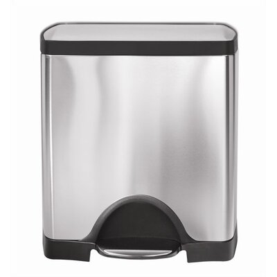buy low price simplehuman rectangular step trash can size 13 gallon 50 liter trash can mall. Black Bedroom Furniture Sets. Home Design Ideas