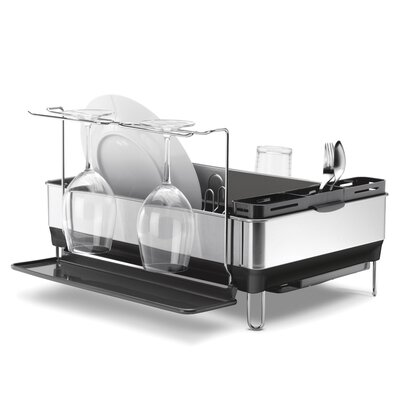 Steel Grey Frame Dish Rack