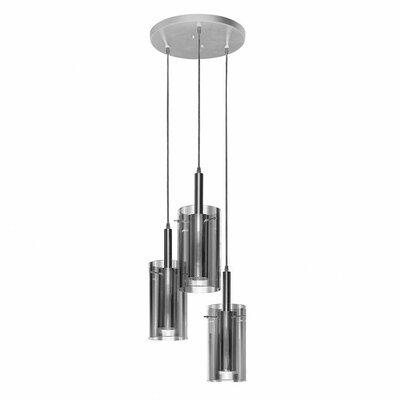 Zylinder 5-Light Cascade Pendant