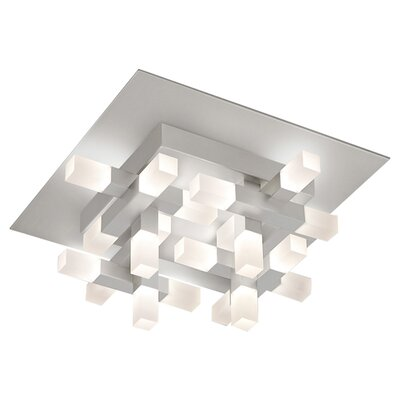Connetix 20-Light Semi Flush Mount