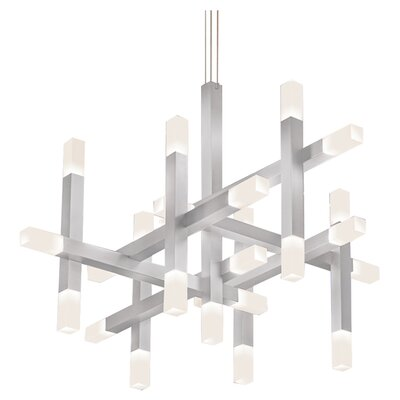 Connetix 25-Light Geometric Pendant