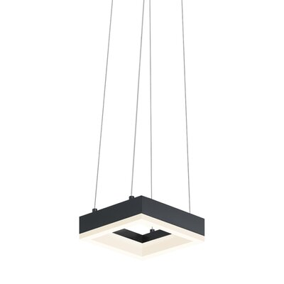 Corona Mini Pendant Finish: Satin Black