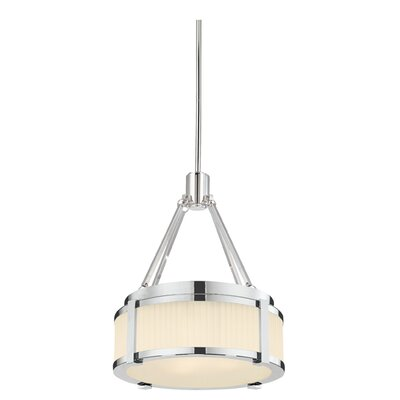 Roxy 2-Light Drum Pendant Finish: Polished Nickel