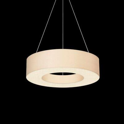 1-Light Drum Pendant Size: 5 H x 22 W
