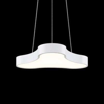Corso Rhythm 1-Light Pendant Finish: Textured White
