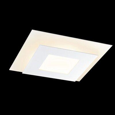 Offset 1-Light Flush Mount