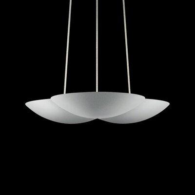 Little Cloud Inverted Pendant Finish: Bright Satin Aluminum