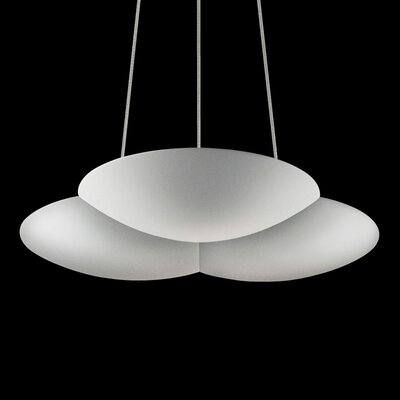 Big Cloud Inverted Pendant Finish: Bright Satin Aluminum