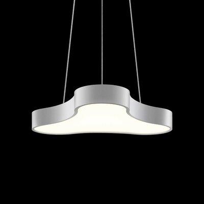 Corso Rhythm 1-Light Pendant Finish: Bright Satin Aluminum