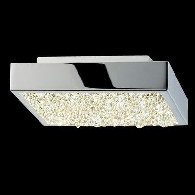 Dazzle 1-Light Flush Mount Size: 1.75 H x 6 W x 6 D