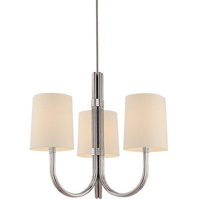 Dorian 3-Light Shaded Chandelier
