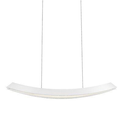 Kabu Kitchen Island Pendant Finish: Textured White