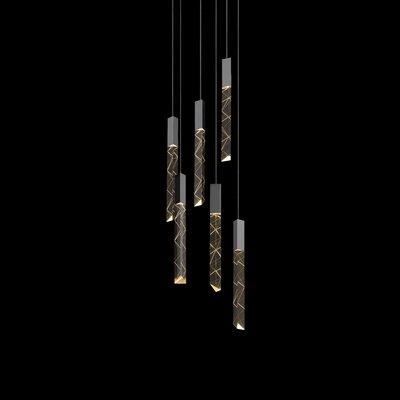 Trinity 6-Light Cascade Pendant