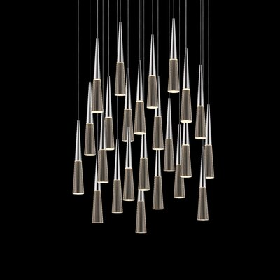 Spire 24-Light Cascade Pendant