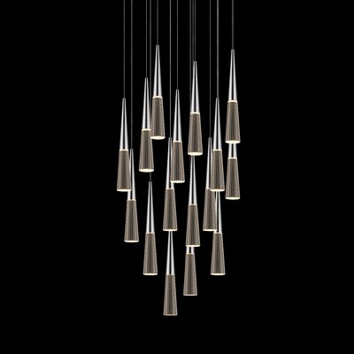 Spire 16-Light Cascade Pendant