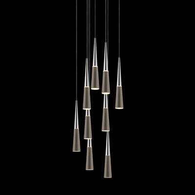 Spire 9-Light Cascade Pendant