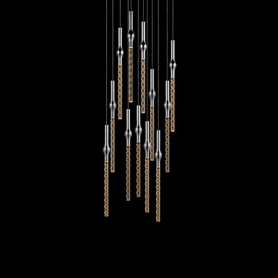 Rain 12-Light Cascade Pendant