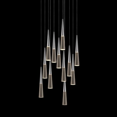 Spire 12-Light Cascade Pendant
