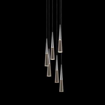 Spire 6-Light Cascade Pendant