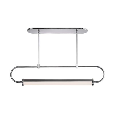 Bauhaus Revisited Kitchen Island Pendant Finish: Polished Chrome