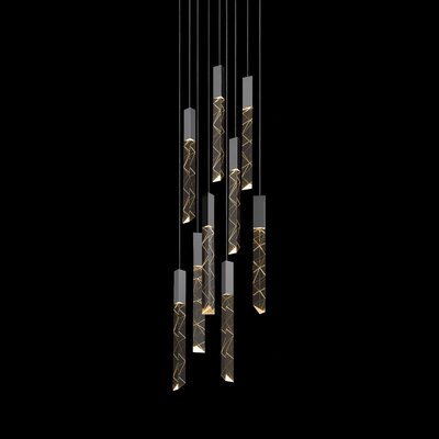 Trinity 9-Light Cascade Pendant