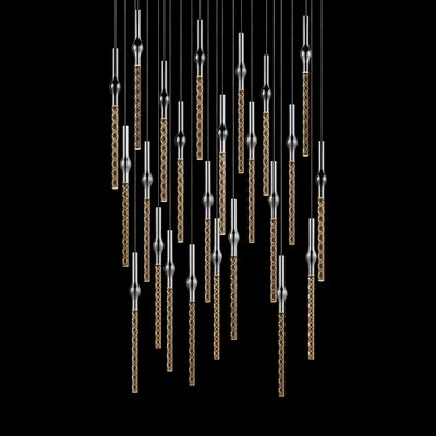 Rain 24-Light Cascade Pendant