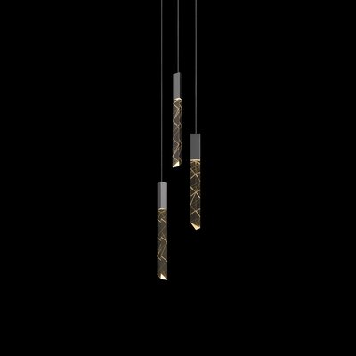 Trinity 3-Light Cascade Pendant