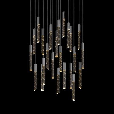 Trinity 24-Light Cascade Pendant