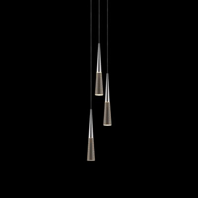 Spire 3-Light Cascade Pendant