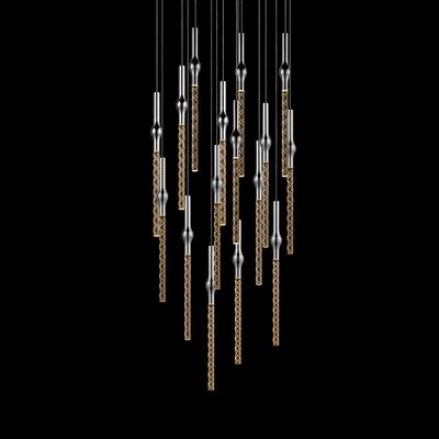Rain 16-Light Cascade Pendant