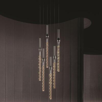 Rain 6-Light Cascade Pendant
